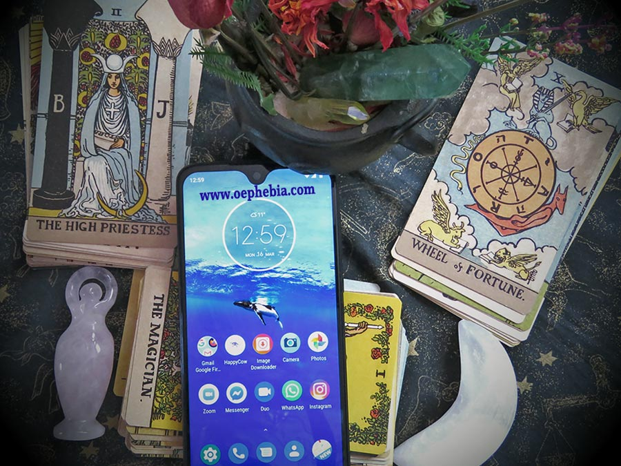 Telephone/facebook Tarot Readings
